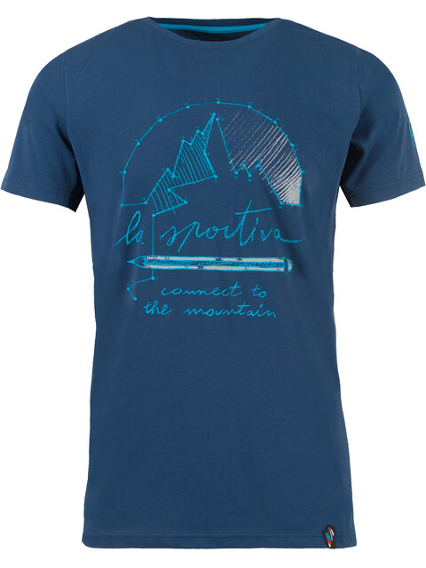 La Sportiva Connect - T-shirt manches courtes Homme - bleu